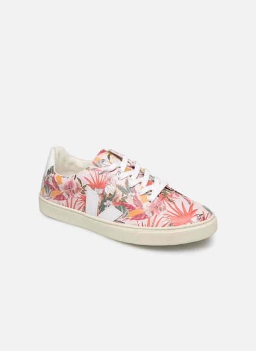 Trainers Veja Esplar Small Lace Pink detailed view/ Pair view